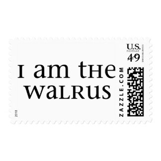I am the Walrus Postage Stamp