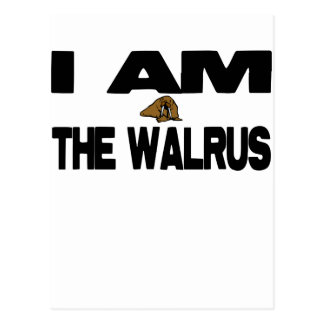 I Am the Walrus Post Card