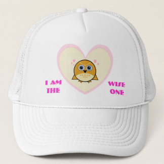 I AM THE WISE ONE OWL HAT