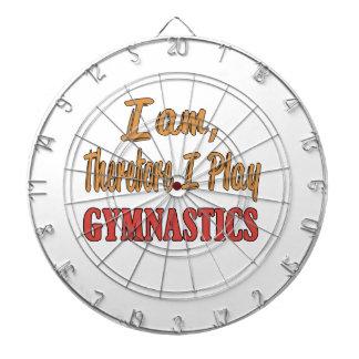 I am therefore I play Gymnastics. Dartboards