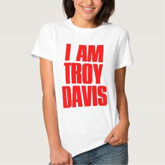 I Am Troy Davis Tees