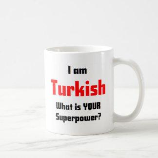 I am Turkish Classic White Coffee Mug