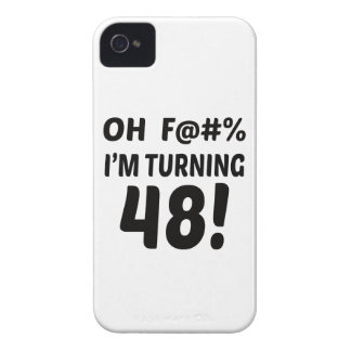 I am Turning 48 ! iPhone 4 Case-Mate Case