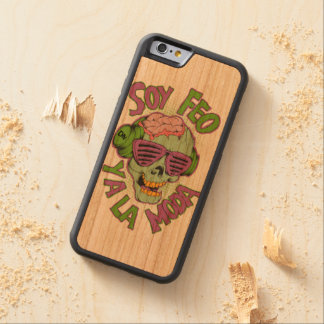 I am Ugly and in fashion Carved® Cherry iPhone 6 Bumper Case
