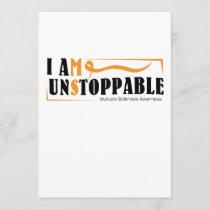 I Am Unstoppable Multiple Sclerosis Awarness