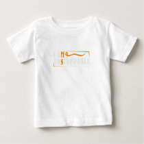 I Am Unstoppable Multiple Sclerosis Awarness Baby T-Shirt