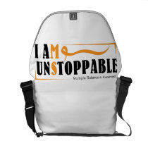 I Am Unstoppable Multiple Sclerosis Awarness Courier Bag