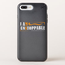 I Am Unstoppable Multiple Sclerosis Awarness Speck iPhone Case