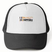 I Am Unstoppable Multiple Sclerosis Awarness Trucker Hat