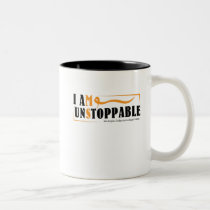 I Am Unstoppable Multiple Sclerosis Awarness Two-Tone Coffee Mug