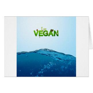 I am Vegan Card