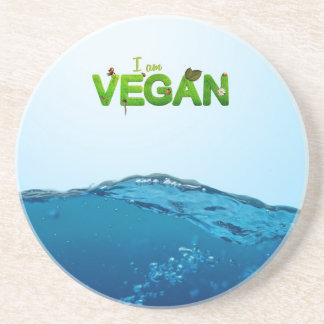 I am Vegan Coaster