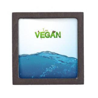 I am Vegan Keepsake Box