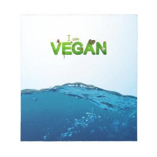 I am Vegan Notepad