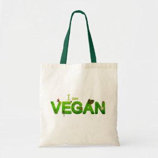 """""""I am vegan"""" tote bag"""