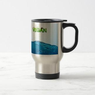 I am Vegan Travel Mug