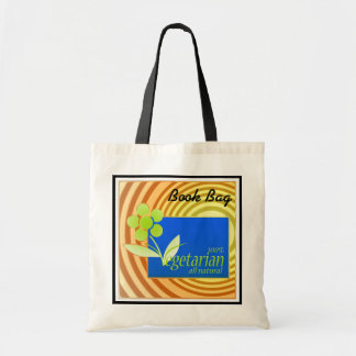 I am vegan/vegetarian tote bag