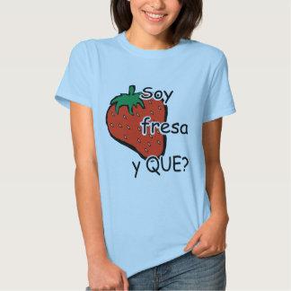 I am vertical strawberry tshirt