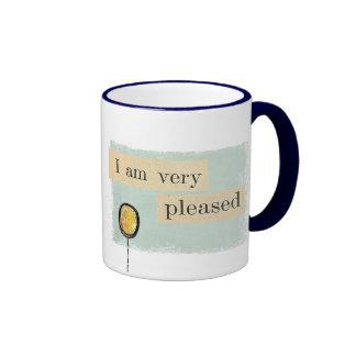 i am very pleased Mug