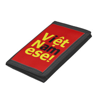 i am Việt Namese! Trifold Wallet