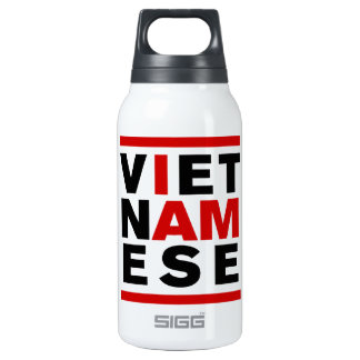 I AM VIETNAMESE 10 OZ INSULATED SIGG THERMOS WATER BOTTLE