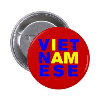 I AM VIETNAMESE 2 INCH ROUND BUTTON