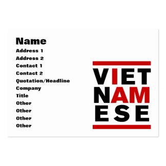 I AM VIETNAMESE BUSINESS CARD TEMPLATE