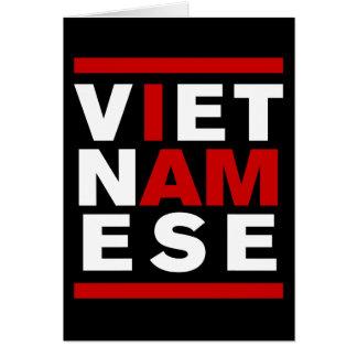 I AM VIETNAMESE CARD