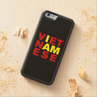 I AM VIETNAMESE CARVED® MAPLE iPhone 6 BUMPER CASE
