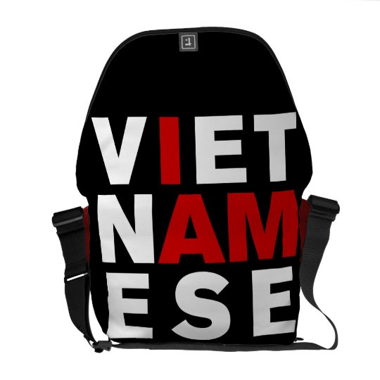 I AM VIETNAMESE COURIER BAG