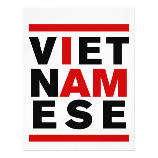 I AM VIETNAMESE CUSTOM FLYER