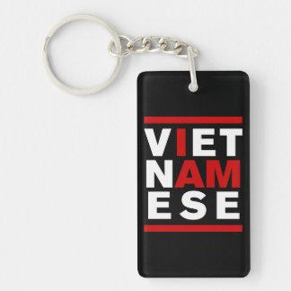 I AM VIETNAMESE Double-Sided RECTANGULAR ACRYLIC KEYCHAIN