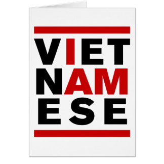 I AM VIETNAMESE GREETING CARDS