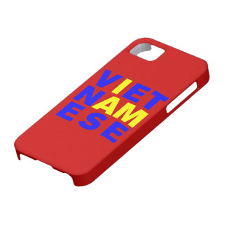 I AM VIETNAMESE iPhone 5 COVERS