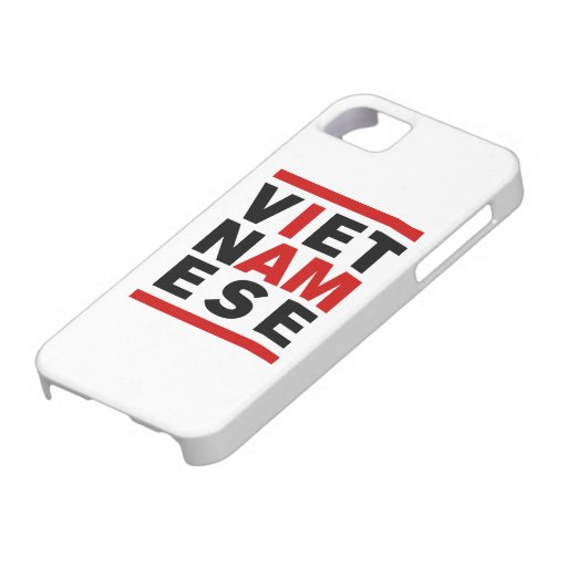 I AM VIETNAMESE iPhone SE/5/5s CASE