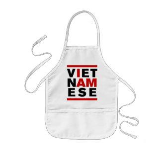 I AM VIETNAMESE KIDS' APRON