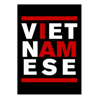 I AM VIETNAMESE LARGE BUSINESS CARD