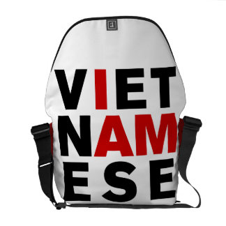 I AM VIETNAMESE MESSENGER BAG
