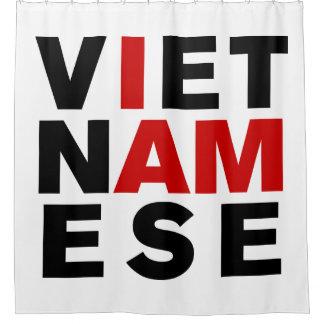 I AM VIETNAMESE SHOWER CURTAIN