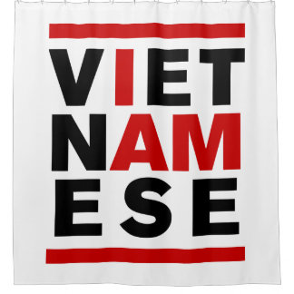 I AM VIETNAMESE SHOWER CURTAIN