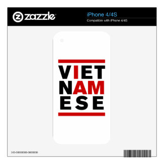 I AM VIETNAMESE SKINS FOR iPhone 4