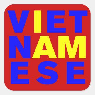 I AM VIETNAMESE STICKERS