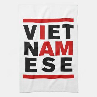 I AM VIETNAMESE TOWEL