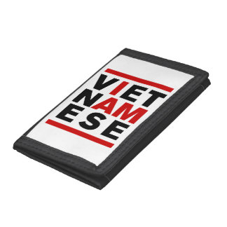 I AM VIETNAMESE TRIFOLD WALLET