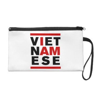 I AM VIETNAMESE WRISTLET CLUTCHES