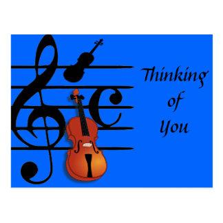 I Am Violin_ Postcard