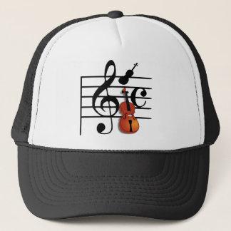 I Am Violin_ Trucker Hat