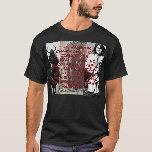 I AM WARRIOR T_Shirt