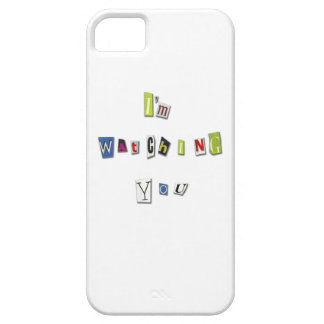 I am watching you iPhone SE/5/5s case