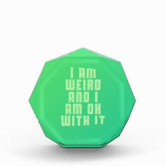 I am weird and I am ok with it Award